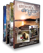 Photo of the Adventure Angler DVD case